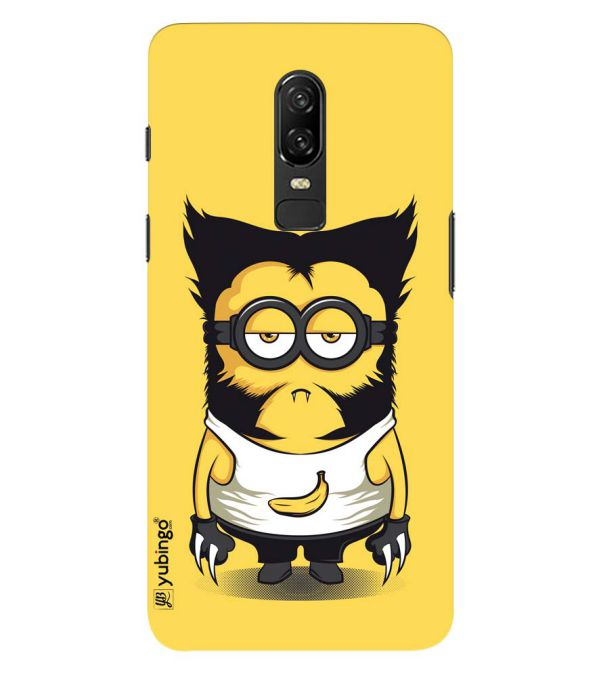 wholesale dealer 41b6f 14061 Cool Cartoon Back Cover for OnePlus 6