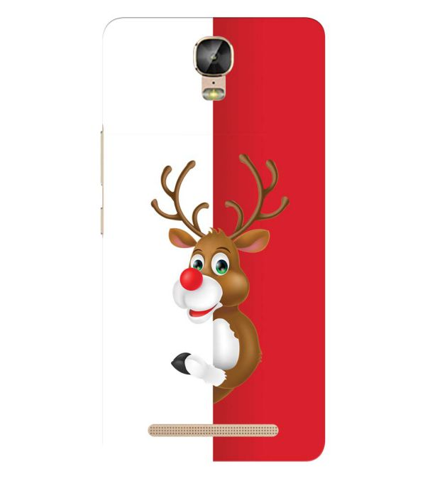 Cool Christmas Back Cover for Gionee Marathon M5 Plus