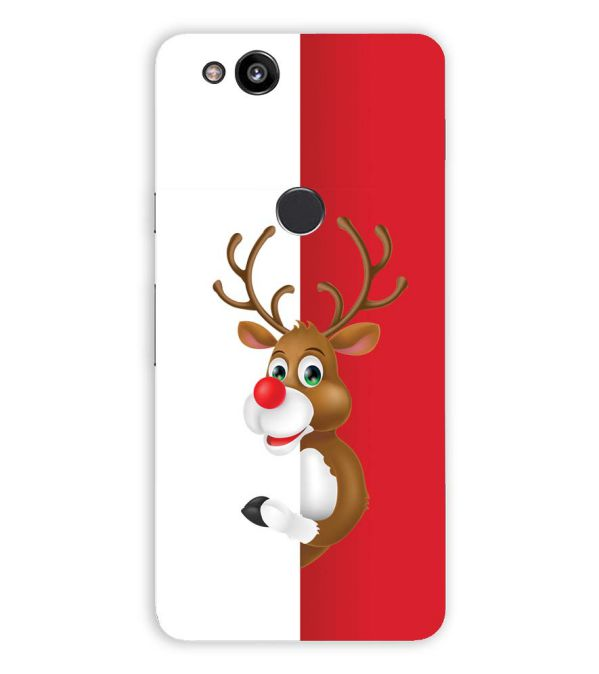 Cool Christmas Back Cover for Google Pixel 2 XL (6 Inch Screen)