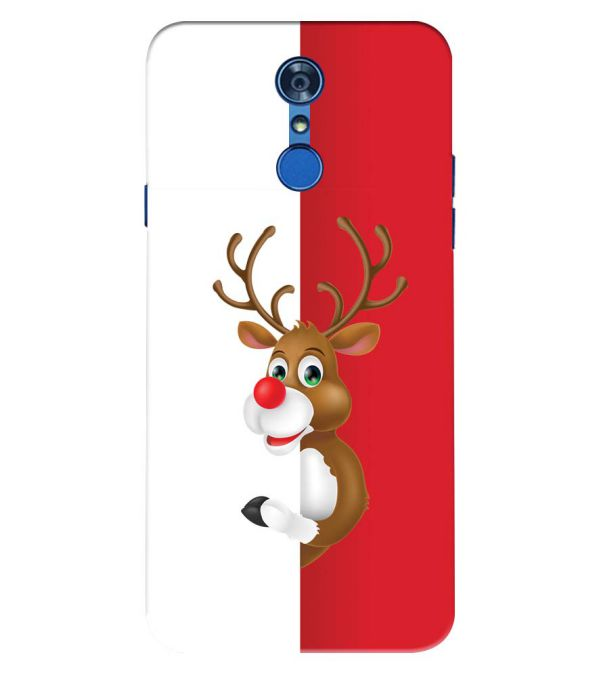 Cool Christmas Back Cover for LG Q7