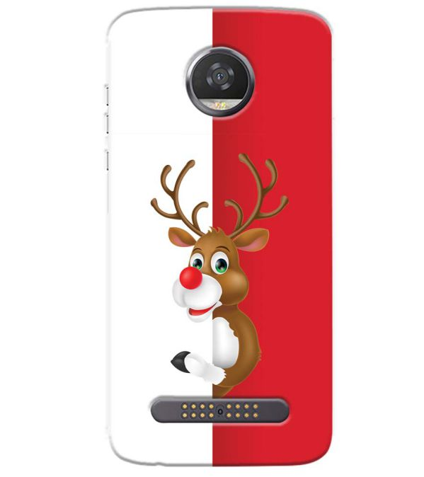 Cool Christmas Back Cover for Motorola Moto Z3 Play