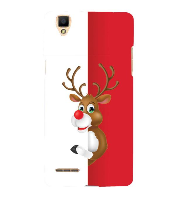 Cool Christmas Back Cover for Oppo F1