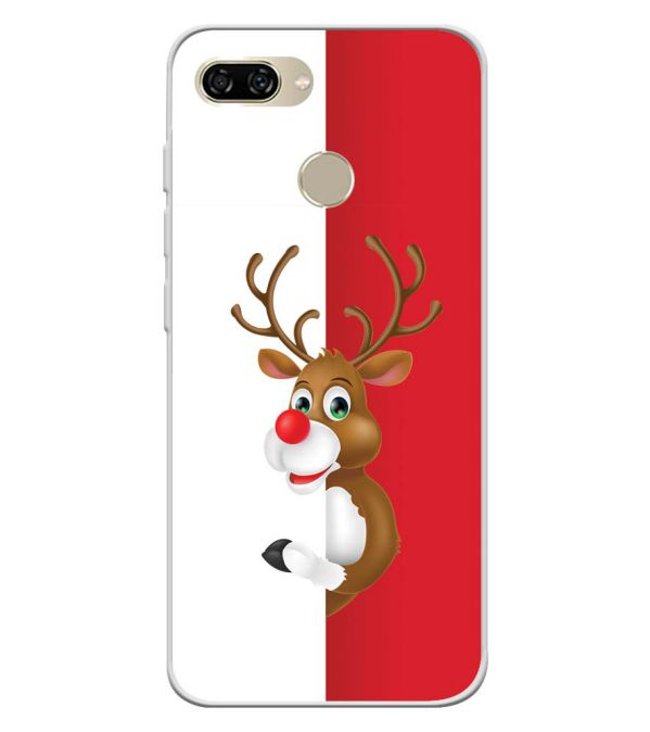 Cool Christmas Soft Silicone Back Cover for Gionee S11 lite