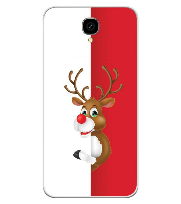 Cool Christmas Soft Silicone Back Cover for Intex Aqua Lions T1 Lite