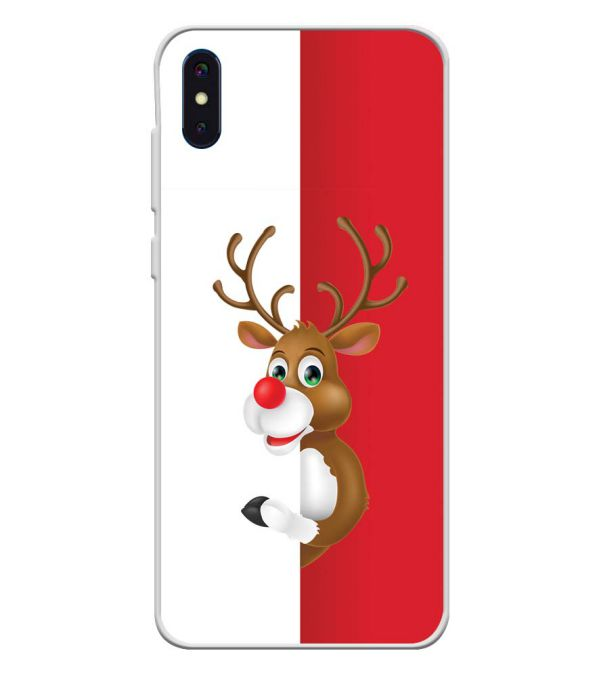 Cool Christmas Soft Silicone Back Cover for iVoomi i2