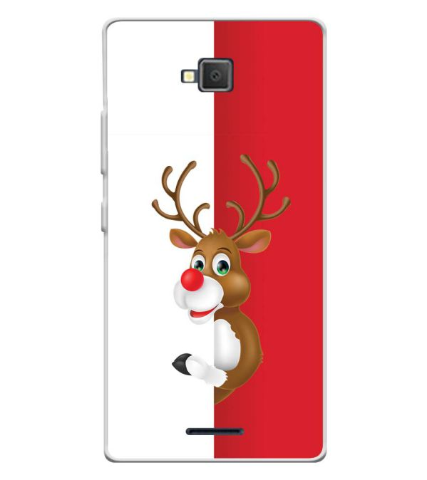 Cool Christmas Soft Silicone Back Cover for Lava A82