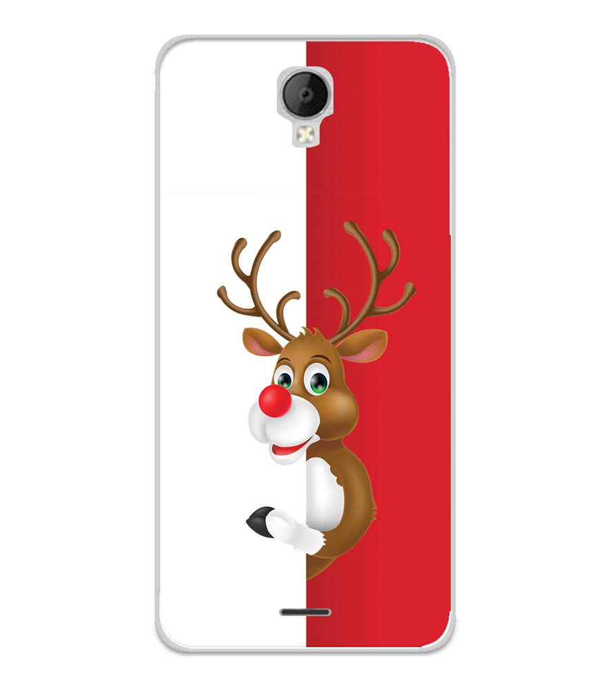 Cool Christmas Soft Silicone Back Cover for Micromax Spark Go