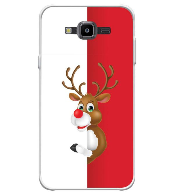Cool Christmas Soft Silicone Back Cover for Samsung Galaxy J7 Nxt