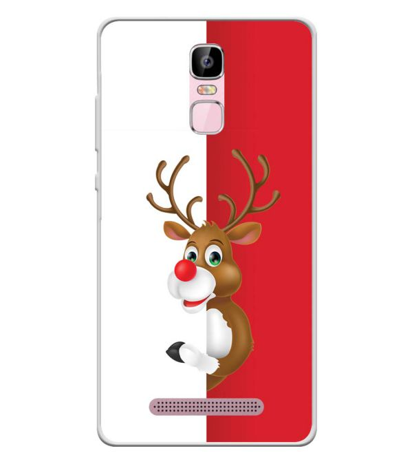 Cool Christmas Soft Silicone Back Cover for Zen Admire Sense Plus