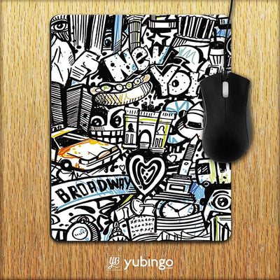 Cool Graffiti Mouse Pad-Image2