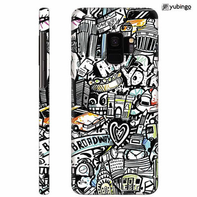 Cool Graffiti Back Cover for Samsung Galaxy S9