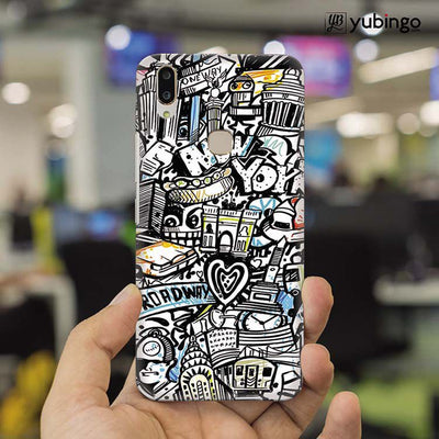 Cool Graffiti Back Cover for Vivo X21-Image2