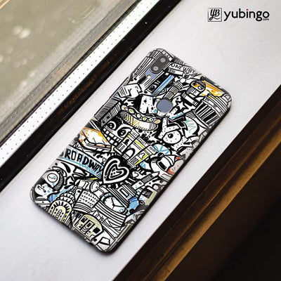 Cool Graffiti Back Cover for Vivo X21-Image3