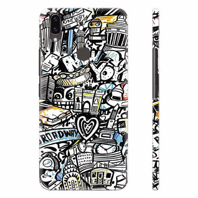 Cool Graffiti Back Cover for Vivo X21