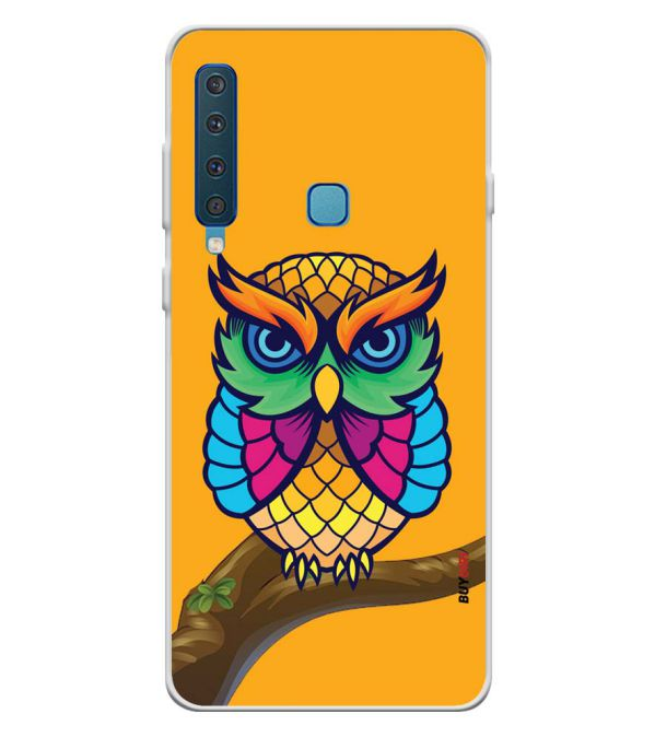 Cool Owl Soft Silicone Back Cover for Samsung Galaxy A9 (2018)