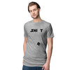 Cool Shirt Men T-Shirt-Grey Melange
