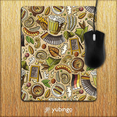Cowboy Beer Mouse Pad-Image2