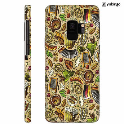Cowboy Beer Back Cover for Samsung Galaxy S9