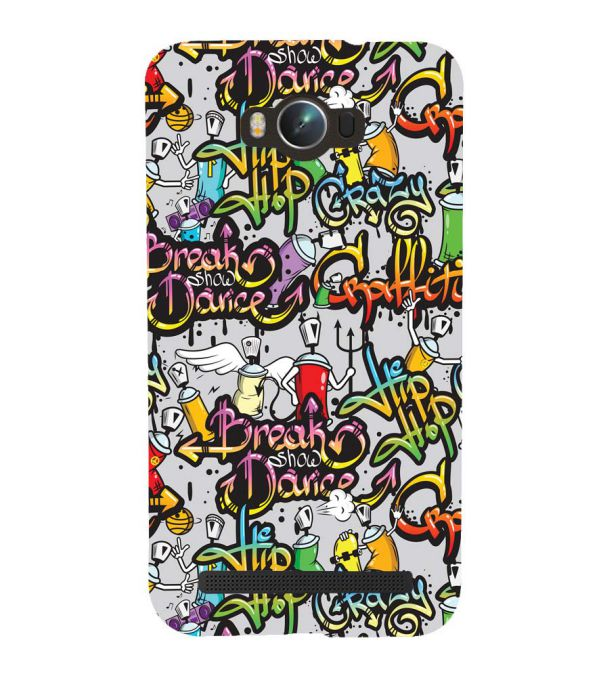 Crazy Graffiti Back Cover for Asus Zenfone Max ZC550KL