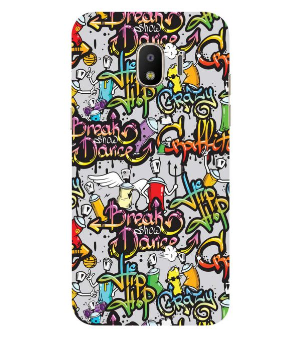 Crazy Graffiti Back Cover for Samsung Galaxy J2 (2018)