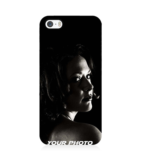 salvare 67de2 e4a35 Your Photo Back Cover for Apple iPhone 5 and iPhone 5S and iPhone SE