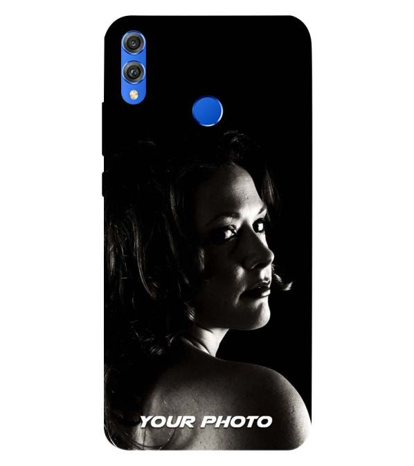 official photos 19efb 0ce09 Buy Huawei Honor 8X Back Cover with Photo Online in India - YuBingo