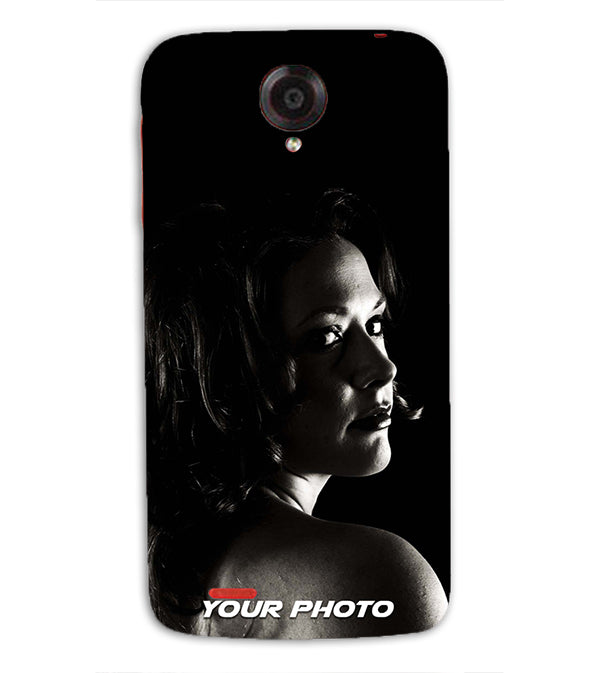 Mobile Cover with Your Photo for Lenovo S820