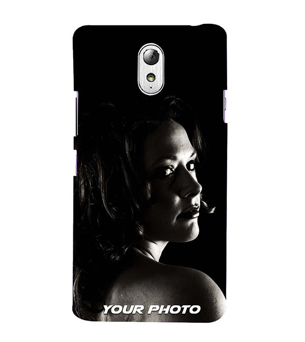 Mobile Cover with Your Photo for Lenovo Vibe P1M