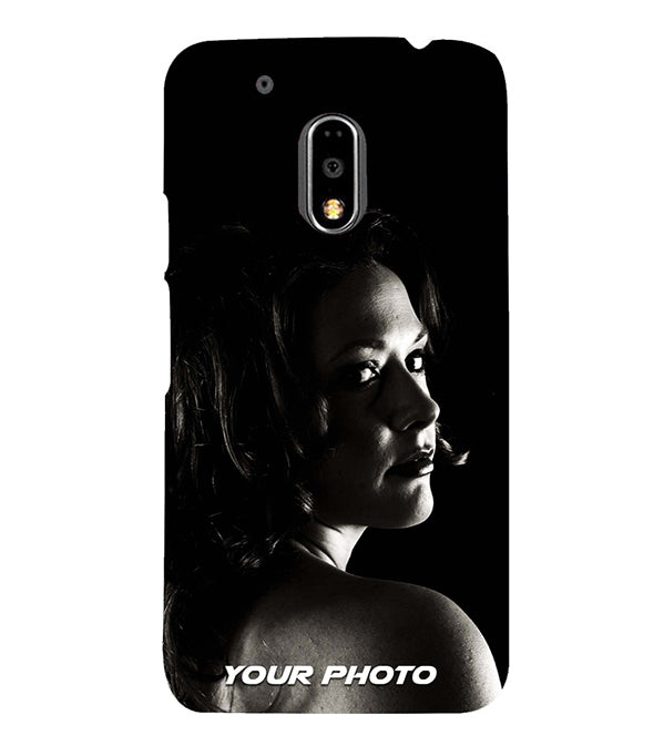 Mobile Cover with Your Photo for Motorola Moto G4 : G4 Plus