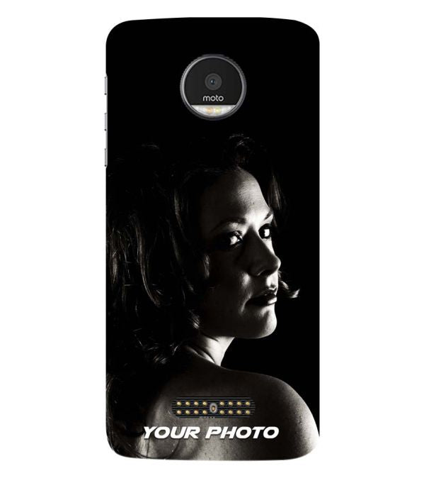 Your Photo Back Cover for Motorola Moto Z