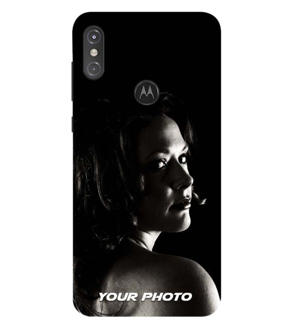 Your Photo Back Cover for Motorola One Power (P30 Note)