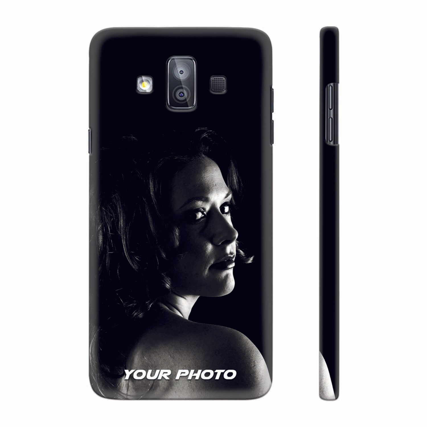 best website acc26 1867e Buy Samsung Galaxy J7 Duo Back Cover with Photo Online India - YuBingo