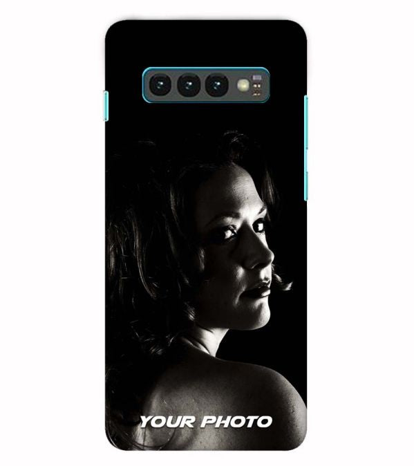 Your Photo Back Cover for Samsung Galaxy S10+ (Plus with 6.4 Inch Screen)