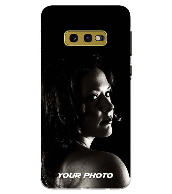Your Photo Back Cover for Samsung Galaxy S10e (5.8 Inch Screen)