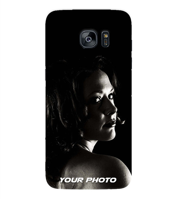Your Photo Back Cover for Samsung Galaxy S7 Edge