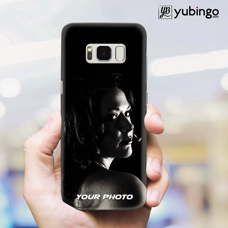 Mobile Cover with Your Photo for Samsung Galaxy S8 Plus