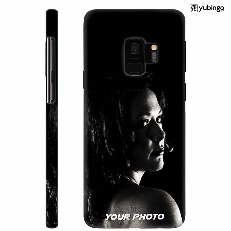 Mobile Cover with Your Photo for Samsung Galaxy S9