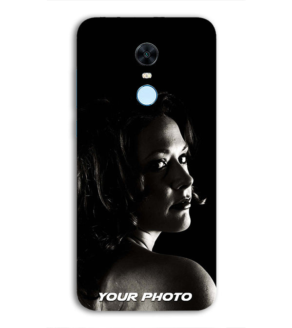 low priced 388b1 d6e30 Mobile Cover with Your Photo for Xiaomi Redmi 5 Plus