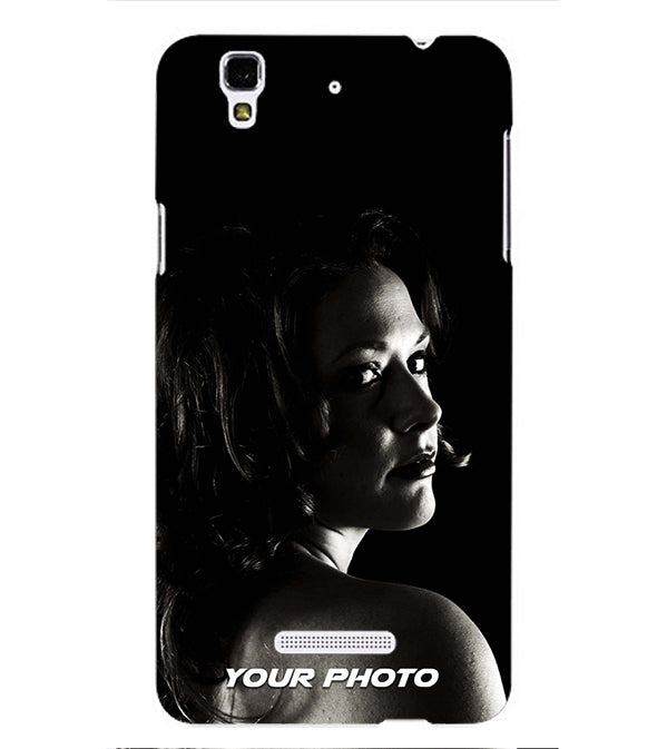 Mobile Cover with Your Photo for Yu Yureka Plus