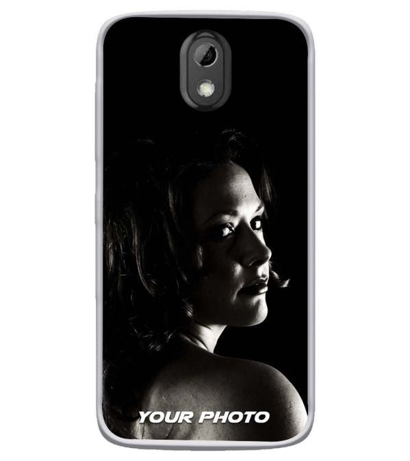 Your Photo Soft Silicone Mobile Case for HTC Desire 526