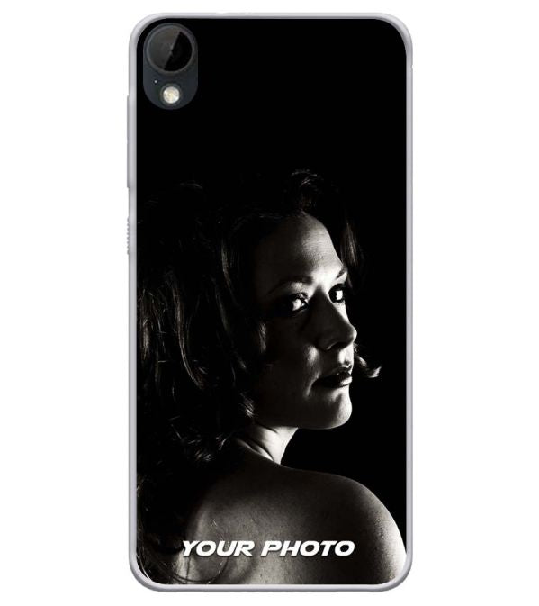 Your Photo Soft Silicone Mobile Case for HTC Desire 630