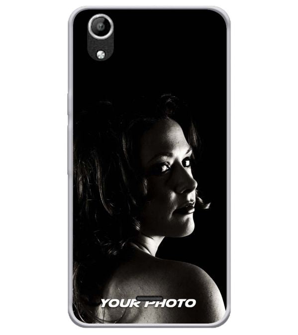 Create Your Own Soft Silicone Back Cover for Micromax Selfie Lens Q345