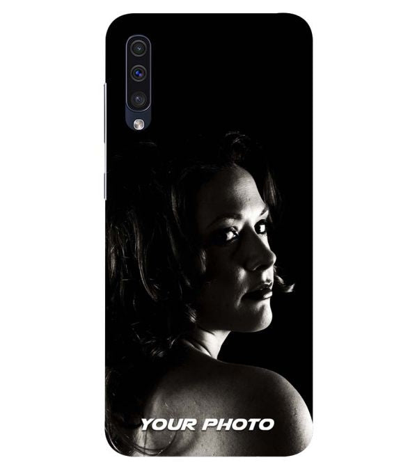 the best attitude 55ba3 0130b Your Photo Back Cover for Samsung Galaxy A50