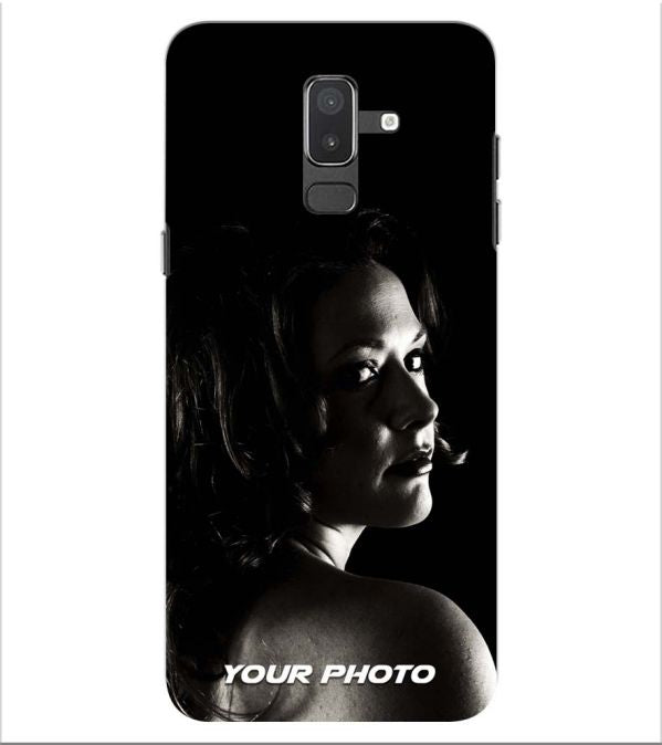 Your Photo Back Cover for Samsung Galaxy J8 (2018)