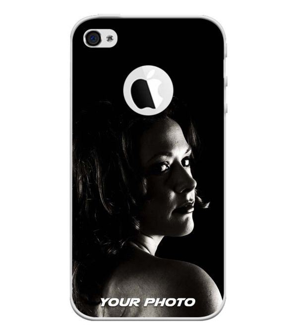 Your Photo Back Cover for Apple iPhone 4 and iPhone 4S (Logo Cut)-Image3