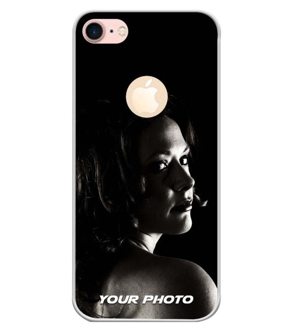 Your Photo Back Cover for Apple iPhone 7 (Logo)-Image3