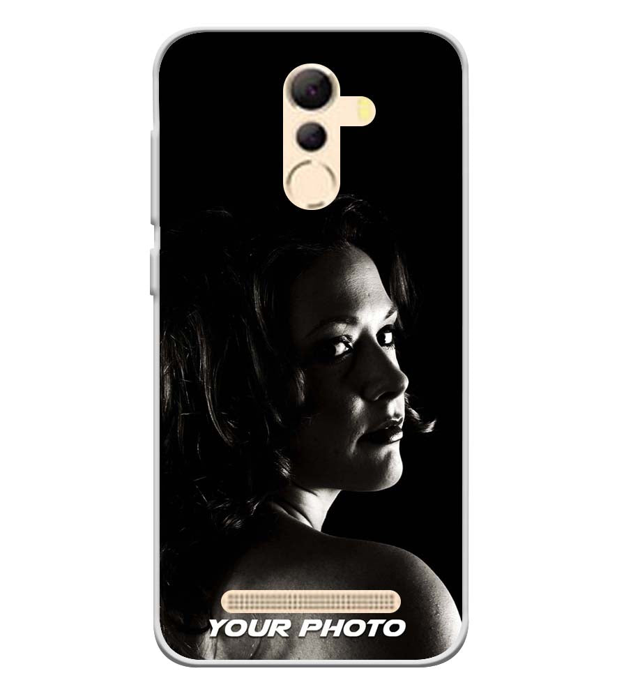 Your Photo Soft Silicone Back Cover for Coolpad Mega 5A