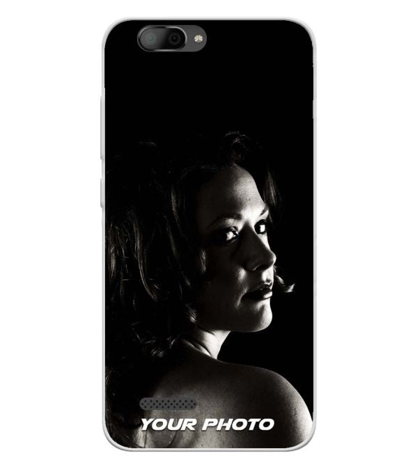Your Photo Soft Silicone Back Cover for InFocus A3