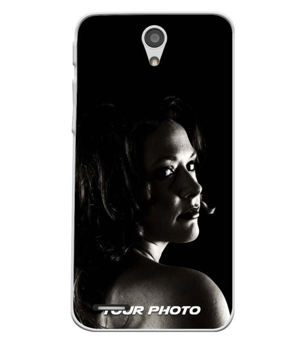 Your Photo Soft Silicone Back Cover for InFocus M260