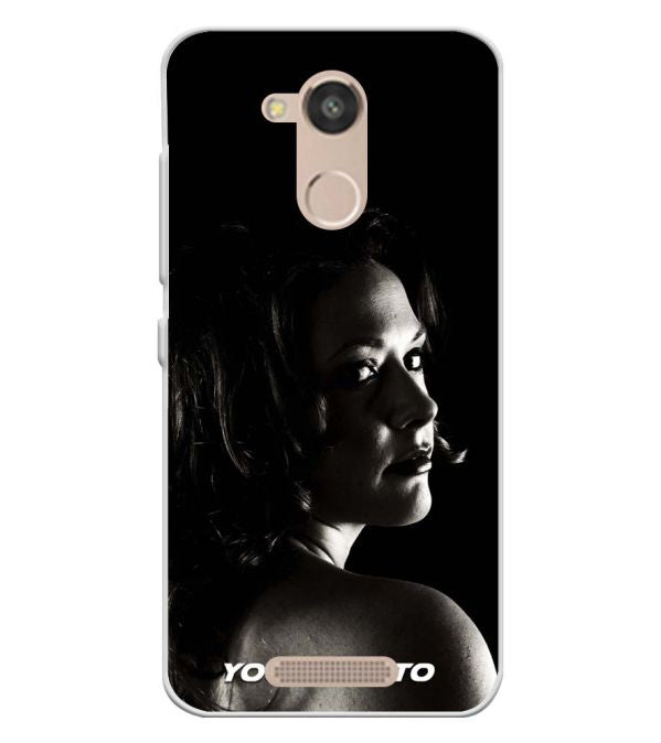 Your Photo Soft Silicone Back Cover for InFocus Turbo 5s